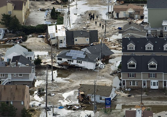 Devastated Jersey Shore