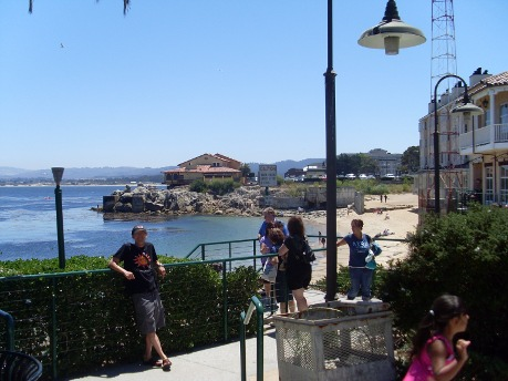 In Monterey California Vacationing