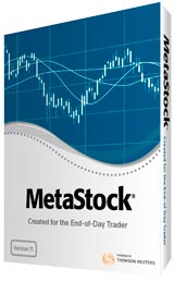 MetaStock 10 stock charting program