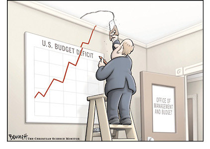 U.S debt deficit tax break