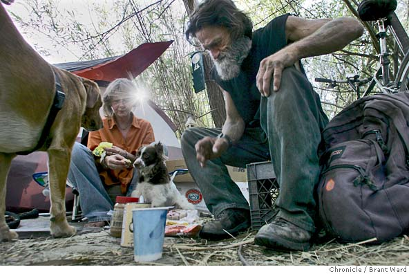 Growing American homeless / poor