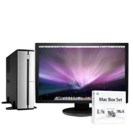 Apple Mac OS X Clone PC Psystar Russsian