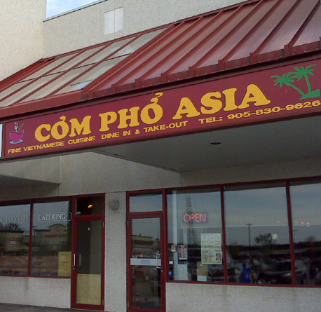 Com Pho Asia Vietnamese Restaurant Newmarket, Ontario, Canada