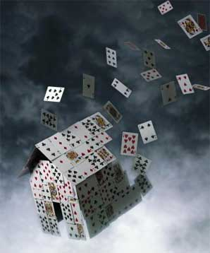 U.S economic house of cards