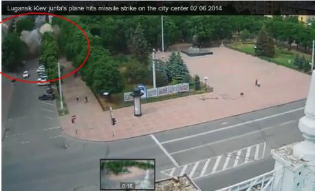 East-Ukrane-Bombing