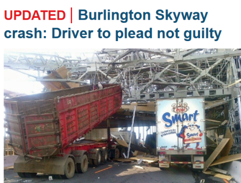 Idiot-drunk-truck-driver-Burlington-skyway